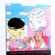 Cómics: MOTOR LAB MONQI. RETRATO DE BRIAN THE BRAIN COMO ADOLESCENTE (MIGUEL ÁNGEL MARTÍN) 2012. OFRT. Lote 211605811