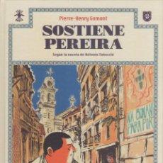 Cómics: SOSTIENE PEREIRA-EDICIONES ASTIBERRI-AÑO 2017-COLOR-TAPA DURA-AUTOR : PIERRE-HENRY GOMONT-. Lote 194606885