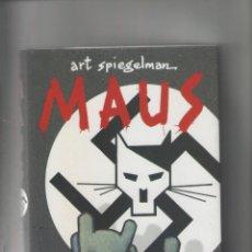 Cómics: MAUS- RELATO DE UN SUPERVIVIENTE-EDITORIAL S.A.U.-AÑO 2012-B Y N-TAPA DURA-AUTOR : SPIEGELMAN-. Lote 194607128