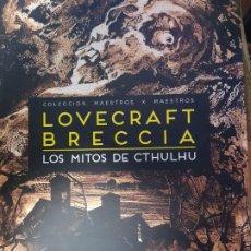 Cómics: LOS MITOS DE CTHULHU DE BRECCIA , EDICION RUSTICA , DOEDYTORES. Lote 194616893
