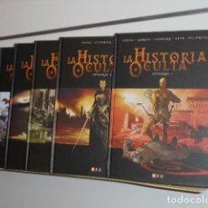 Cómics: LA HISTORIA OCULTA COMPLETA 6 TOMOS - ECC - OFERTA. Lote 194621691