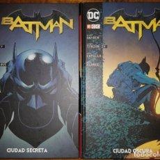 Cómics: BATMAN: CIUDAD SECRETA Y CIUDAD OSCURA. SCOTT SNYDER, GREG CAPULLO. TOMOS ECC. Lote 194642787