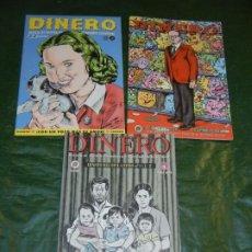 Cómics: DINERO. REVISTA DE POETICA FINANCIERA E INTERCAMBIO ESPIRITUAL, MIGUEL BRIEVA COMPLETA. Lote 194667080
