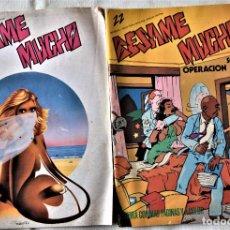 Cómics: BESAME MUCHO Nº 22 Y 23 - AÑO 1982. Lote 194680505