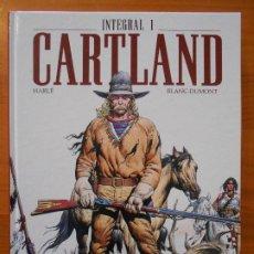 Cómics: CARTLAND INTEGRAL 1 - HARLE / BLANC-DUMONT - TAPA DURA - PONENT MON (A). Lote 194687560