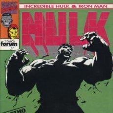 Comics: INCREDIBLE HULK & IRON MAN Nº 9 - ÚLTIMO NÚMERO. Lote 194696897