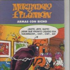 Cómics: MORTADELO Y FILEMÓN-E.D. EL PERIODICO-AÑO 2001-COLOR-CARTON-ARMAS CON BICHO. Lote 194701810