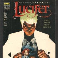 Cómics: LUCIFER. Nº 2 DE 2. COLECCIÓN VERTIGO. NORMA, EDITORIAL. (ST/MG/BL4). Lote 194702860