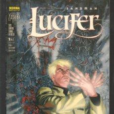 Cómics: LUCIFER. Nº 1 DE 2. COLECCIÓN VERTIGO. NORMA, EDITORIAL. (ST/MG/BL4). Lote 194702932