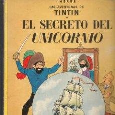 Cómics: LAS AVENTURAS DE TINTIN. EL SECRETO DEL UNICORNIO. JUVENTUD, 1985.(ST/MG/BL4). Lote 194703288