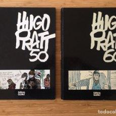 Cómics: HUGO PRATT 50 I HUGO PRATT 60 (2 VOL.). ED. GLÉNAT, 1981. EDICIÓ EN FRANCÈS. Lote 194704840