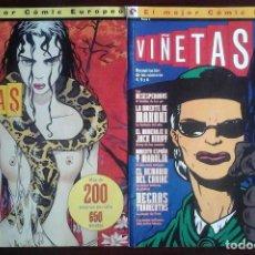 Cómics: VIÑETAS Nº 1 - 2 - 3 - 4 - 5 Y 6 EN DOS TOMOS. Lote 194734133