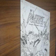 Cómics: PASSIVE COMICS 1. GRAPA. COMIC. BLANCO Y NEGRO. PRIMERA EDICIÓN. BUEN ESTADO. DIFICIL. Lote 194741086