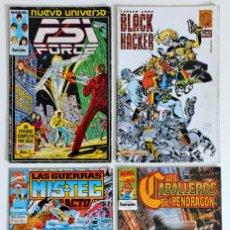 Cómics: 4 COMICS VARIADOS - EDITORIALES FORUM - MARVEL - DC - BRAVURA - FIRST COMICS - CLIFFHANGER-WILDSTORM. Lote 194742205