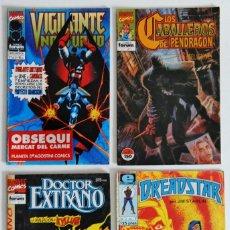 Cómics: 4 COMICS VARIADOS - EDITORIALES FORUM - MARVEL - DC - BRAVURA - FIRST COMICS - CLIFFHANGER-WILDSTORM. Lote 194742210