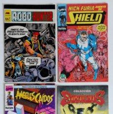 Cómics: 4 COMICS VARIADOS - EDITORIALES FORUM - MARVEL - DC - BRAVURA - FIRST COMICS - CLIFFHANGER-WILDSTORM. Lote 194742212