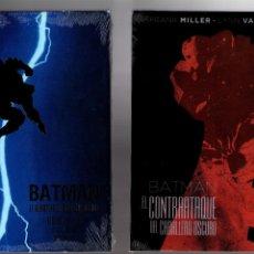 Cómics: BATMAN EL REGRESO Y EL CONTRAATAQUE DEL CABALLERO OSCURO DE FRANK MILLER - ECC / DC EDICIÓN DELUXE. Lote 194763723