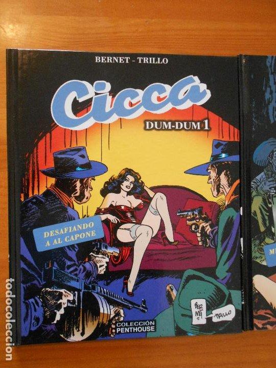Cómics: CICCA DUM-DUM - Nº 1 Y 2 - BERNET / TRILLO - TAPA DURA - COLECCION PENTHOUSE (HJ) - Foto 2 - 194768533