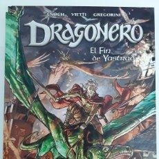 Cómics: DRAGONERO. EL FIN DE YASTRAD - ENOCH, VIETTI, GREGORINI - PANINI / SERGIO BONELLI EDITORE. Lote 194780428