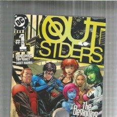 Cómics: OUTSIDERS 1 ORIGINAL USA. Lote 194780472