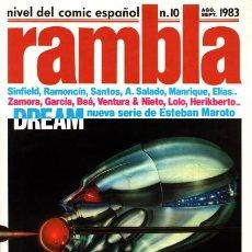 Cómics: RAMBLA-NIVEL DE CÓMICS ESPAÑOL-Nº 10 - BEÁ-LUIS GARCÍA-ESTEBAN MAROTO-1983-BUENO-DIFÍCIL-LEA-3128. Lote 194881297
