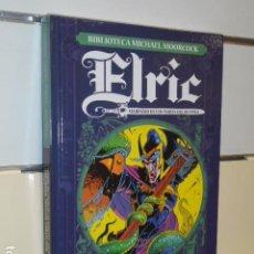 Cómics: BIBLIOTECA MICHAEL MOORCOCK ELRIC MARINERO DE LOS MARES DEL DESTINO - YERMO - OFERTA (ANTES 29€). Lote 194883711