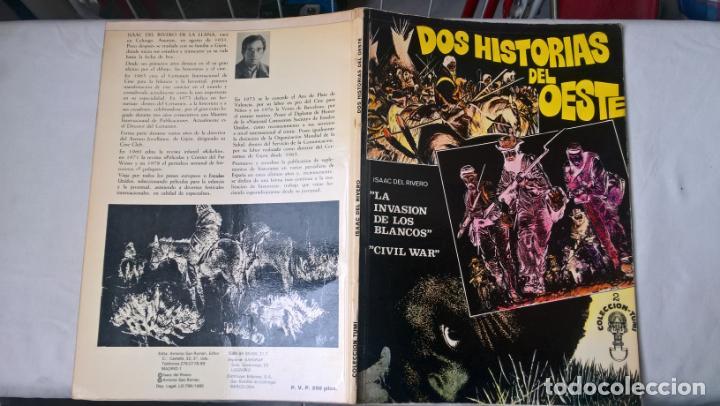 COMIC: DOS HISTORIAS DEL OESTE- COLECCION-TUMI - ISAAC DE RIVERO (Tebeos y Comics Pendientes de Clasificar)