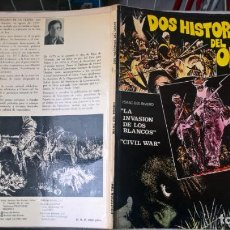 Cómics: COMIC: DOS HISTORIAS DEL OESTE- COLECCION-TUMI - ISAAC DE RIVERO. Lote 194891552