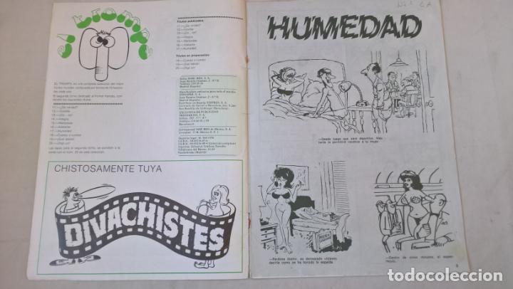 Cómics: COMIC: El Trompa. Nº 17. Humedad. Reseña del humor mundial. Edipress - Foto 2 - 194897445