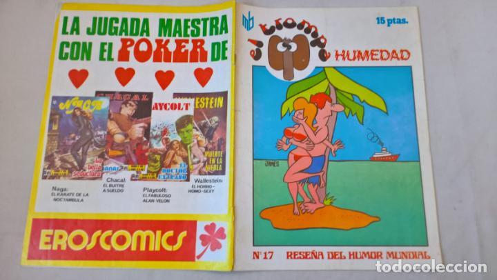 COMIC: EL TROMPA. Nº 17. HUMEDAD. RESEÑA DEL HUMOR MUNDIAL. EDIPRESS (Tebeos y Comics Pendientes de Clasificar)