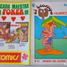 Cómics: COMIC: EL TROMPA. Nº 17. HUMEDAD. RESEÑA DEL HUMOR MUNDIAL. EDIPRESS. Lote 194897445