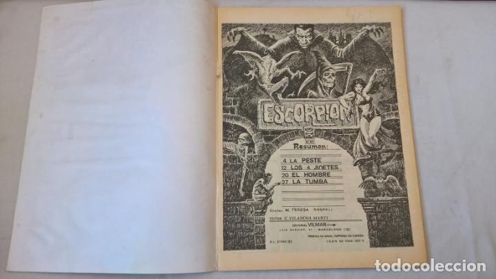Cómics: COMIC: ESCORPION. RELATOS DE TERROR SICOLOGICO Nº 45 - EDITORIAL VILMAR - Foto 2 - 194897890