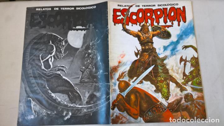 COMIC: ESCORPION. RELATOS DE TERROR SICOLOGICO Nº 45 - EDITORIAL VILMAR (Tebeos y Comics Pendientes de Clasificar)