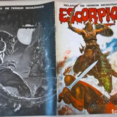 Cómics: COMIC: ESCORPION. RELATOS DE TERROR SICOLOGICO Nº 45 - EDITORIAL VILMAR. Lote 194897890