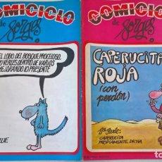 Cómics: COMIC: COMICICLO 1. CARPERUCITA ROJA. SEDMAY. FORGES. Lote 194898056