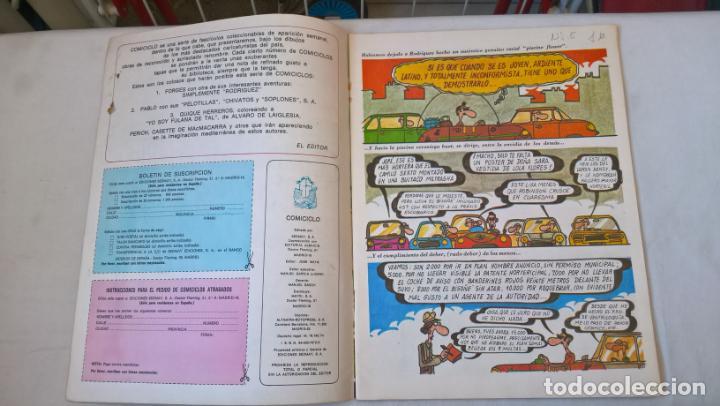 Cómics: COMIC: COMICICLO 8. SIMPLEMENTE RODRIGUEZ. SEDMAY. FORGES - Foto 2 - 194898237