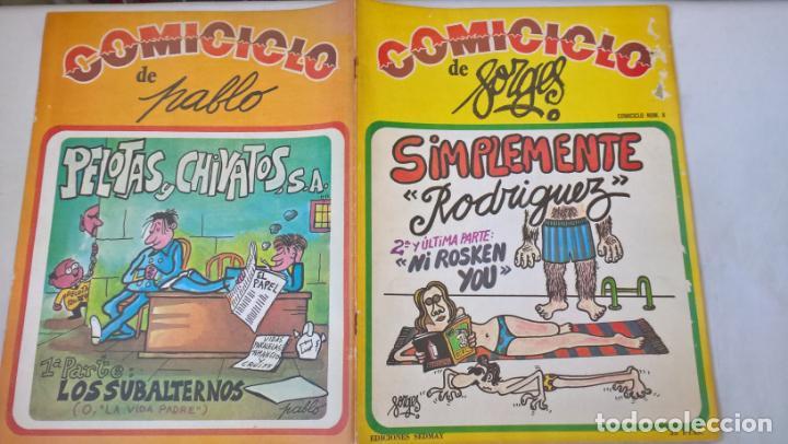 COMIC: COMICICLO 8. SIMPLEMENTE RODRIGUEZ. SEDMAY. FORGES (Tebeos y Comics Pendientes de Clasificar)