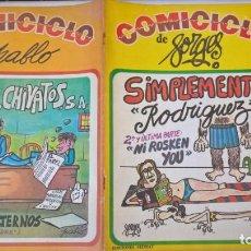 Cómics: COMIC: COMICICLO 8. SIMPLEMENTE RODRIGUEZ. SEDMAY. FORGES. Lote 194898237