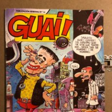 Cómics: GUAI! N° 166 (TEBEOS S.A. 1989).. Lote 194904093