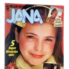 Cómics: JANA. LA MEJOR REVISTA PARA CHICAS 97 (PURITA CAMPOS Y OTROS) SARPE, 1985. Lote 194911880