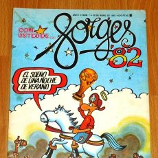 Cómics: CON USTEDES... FORGES 82. AÑO 1 ; NÚM. 1. Lote 194926720