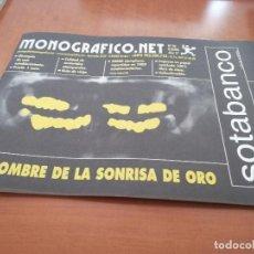 Cómics: MONOGRAFICO.NET 94. GRAPA. REVISTA. BUEN ESTADO. REVISTA DE TEXTOS Y COMICS. . Lote 194938406