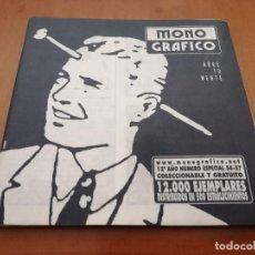 Cómics: MONOGRAFICO.NET 56-57. GRAPA. REVISTA. BUEN ESTADO. REVISTA DE TEXTOS Y COMICS. . Lote 194942271