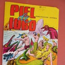 Cómics: PIEL DE LOBO - LUCHAN LOS SAURIOS - COLOSOS DEL COMIC Nº 84 - 1980. . Lote 194957420