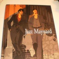 Cómics: JAZZ MAYNARD. 2. MELODÍA DEL RAVAL. RAULE & ROGER. DIABOLO 2008 COLOR TAPA DURA (SEMINUEVO). Lote 194958323