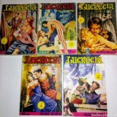 Cómics: LUCRECIA. 5 NUMEROS. 1978. PUBLICACION PARA ADULTOS.. Lote 194959566
