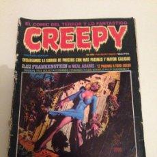 Cómics: REVISTA CREEPY Nº 45 TOUTAIN EDITOR - TERROR, FRANKESTEIN DE NEAL ADAMS, SABRE DE PAUL GULACY . Lote 194970195