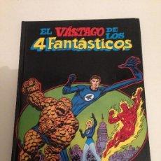 Cómics: EL VÁSTAGO DE LOS 4 FANTÁSTICOS ( MONTENA, 1981) POR STAN LEE Y JACK KIRBY / INCLUYE VIUDA NEGRA.. Lote 194970328