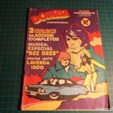 Cómics: BOMBA. Nº 2. SUPLEMENTO REVISTA PRONTO. (E-32). Lote 194977571