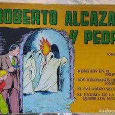 Cómics: TOMO 4 - ROBERTO ALCAZAR Y PEDRÍN. Lote 194982440